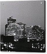Night Scene Of Yokohama Acrylic Print