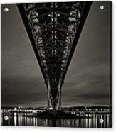 Night View Of Forth Road Bridge Acrylic Print