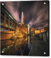 Nightly Communications Acrylic Print