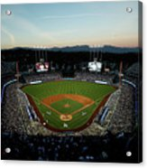 Nlcs - Chicago Cubs V Los Angeles Acrylic Print