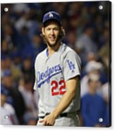 Nlcs - Los Angeles Dodgers V Chicago Acrylic Print