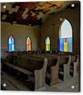 No More Sermons  Acrylic Print