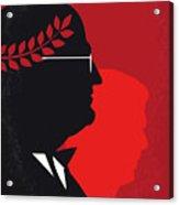 No1043 My Vice Minimal Movie Poster Acrylic Print