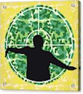 No1049 My Central Intelligence Minimal Movie Poster Acrylic Print