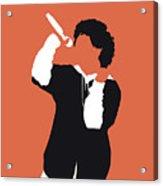 No223 My Bruno Mars Minimal Music Poster Acrylic Print