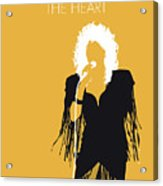 No264 My Bonnie Tyler Minimal Music Poster Acrylic Print