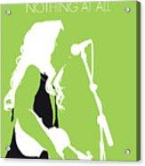 No276 My Alison Krauss Minimal Music Poster Acrylic Print