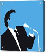 No279 My Julio Iglesias Minimal Music Poster Acrylic Print