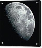 North Pole Of The Earths Moon Acrylic Print