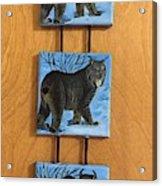 Northern Alberta  Lynx  Acrylic Print