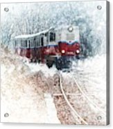 Northern European Train Acrylic Print