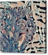 Not A Big Bad Wolf Acrylic Print