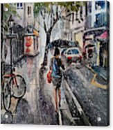Nothing Better Than The Bad Weather Acrylic Print
