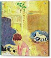 New Yorker November 10, 1951 Acrylic Print
