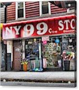 Ny 99 Cent Store Brooklyn  Acrylic Print