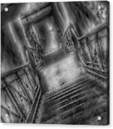 New York Subway Zone Acrylic Print