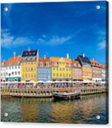 Nyhavn District Is One Of The Most Acrylic Print