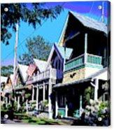 Oak Bluffs Martha's Vineyard Acrylic Print