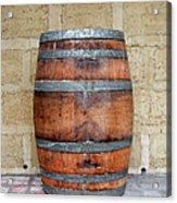 Oak Wine Barrel Acrylic Print