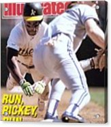 Oakland Athletics Rickey Henderson, 1989 Al Championship Sports Illustrated Cover Acrylic Print