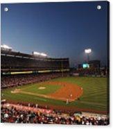 Oakland Athletics V Los Angeles Angels Acrylic Print