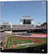 Oakland Athletics V Minnesota Twins Acrylic Print