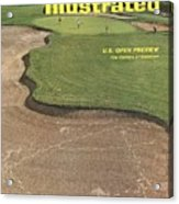 Oakmont Country Club Sports Illustrated Cover Acrylic Print
