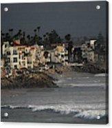 Oceanside California Beach Front Acrylic Print