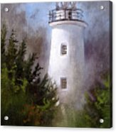 Ocracoke Light Acrylic Print