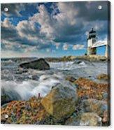 October Morning At Marshall Point Acrylic Print