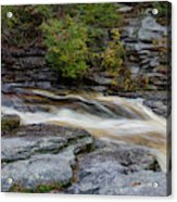 October Morning On The Peterskill II Acrylic Print