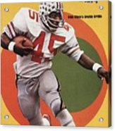 Ohio State Archie Griffin... Sports Illustrated Cover Acrylic Print