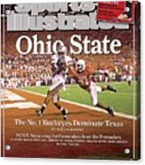 Ohio State Ted Ginn Jr... Sports Illustrated Cover Acrylic Print