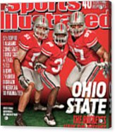 Ohio State University, 2010 College Football Preview Issue Sports Illustrated Cover Acrylic Print