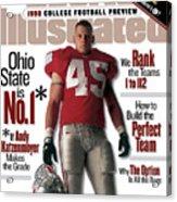Ohio State University Andy Katzenmoyer, 1998 College Sports Illustrated Cover Acrylic Print