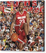 Ohio State University David Lighty, 2011 March Madness Sports Illustrated Cover Acrylic Print