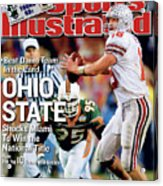 Ohio State University Qb Craig Krenzel, 2003 Tostitos Sports Illustrated Cover Acrylic Print