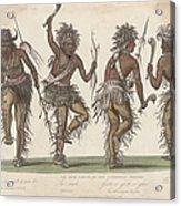 Ojibwa War Dance Acrylic Print