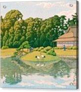 okayama kourakuen - Top Quality Image Edition Acrylic Print