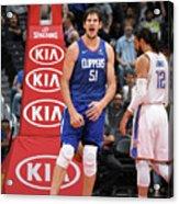 Oklahoma City Thunder V La Clippers Acrylic Print
