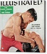 Oklahomas Danny Hodge Best U.s. Wrestler Sports Illustrated Cover Acrylic Print