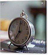 Old Alarm Clock Acrylic Print