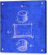 Old Ant Trap Vintage Patent Blueprint Acrylic Print