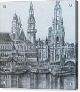 Old City Of Dresden- Dresden Acrylic Print