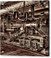 Old Climax Engine No 4 Acrylic Print