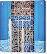 Old Door In Havana Acrylic Print
