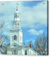 Old First Church Acrylic Print