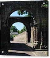 old historic town gate in Hexham Acrylic Print