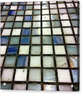 Old Tiles Background Acrylic Print