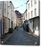 old town street in Hexham Acrylic Print